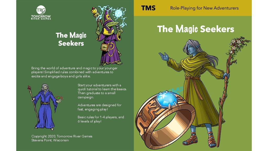 Magic Seekers: Role Playing Game (RPG) for Young Adventurers project video thumbnail