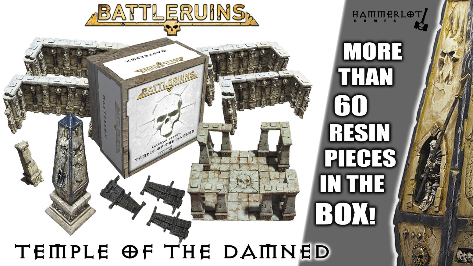 Scenery kit from undead desert to bring your wargames, RPGs, dungeon crawlers, skirmish games and any fantasy game to life.
