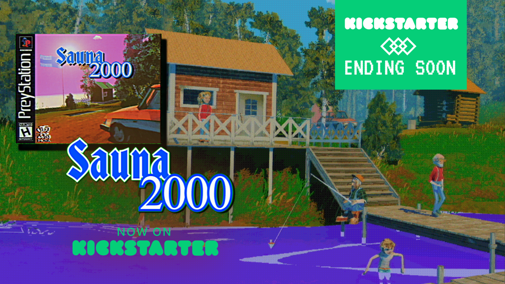 Sauna 2000 - Sauna Simulator with retro aesthetic project video thumbnail