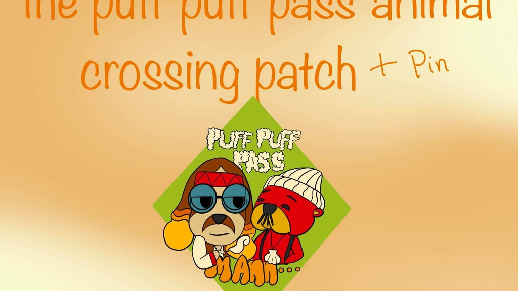 Project image for The animal crossing puff puff patch