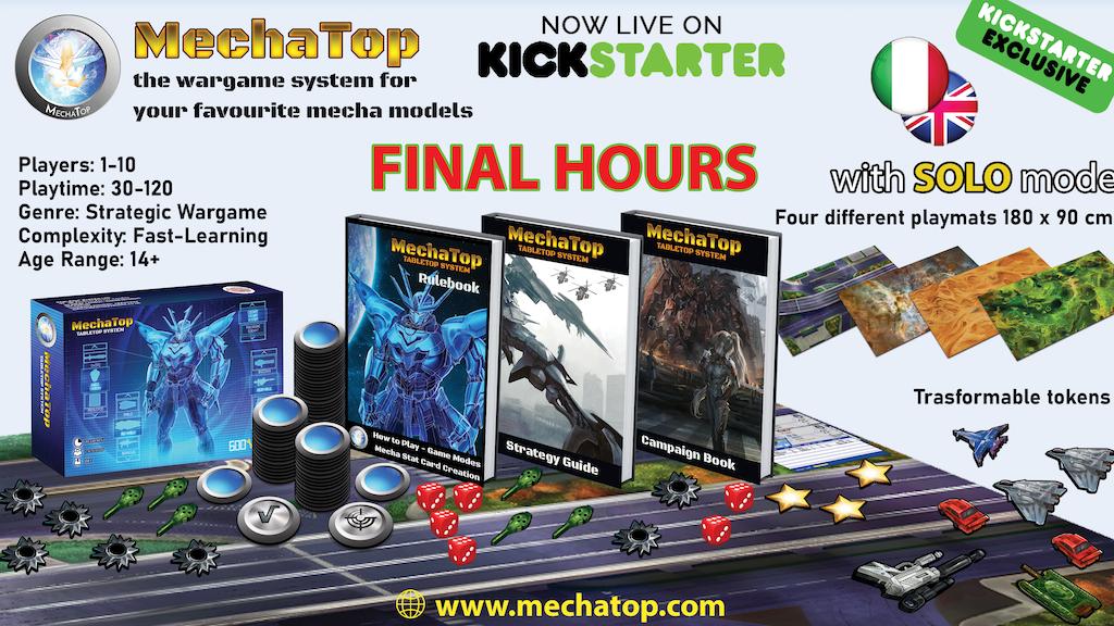 MechaTop project video thumbnail