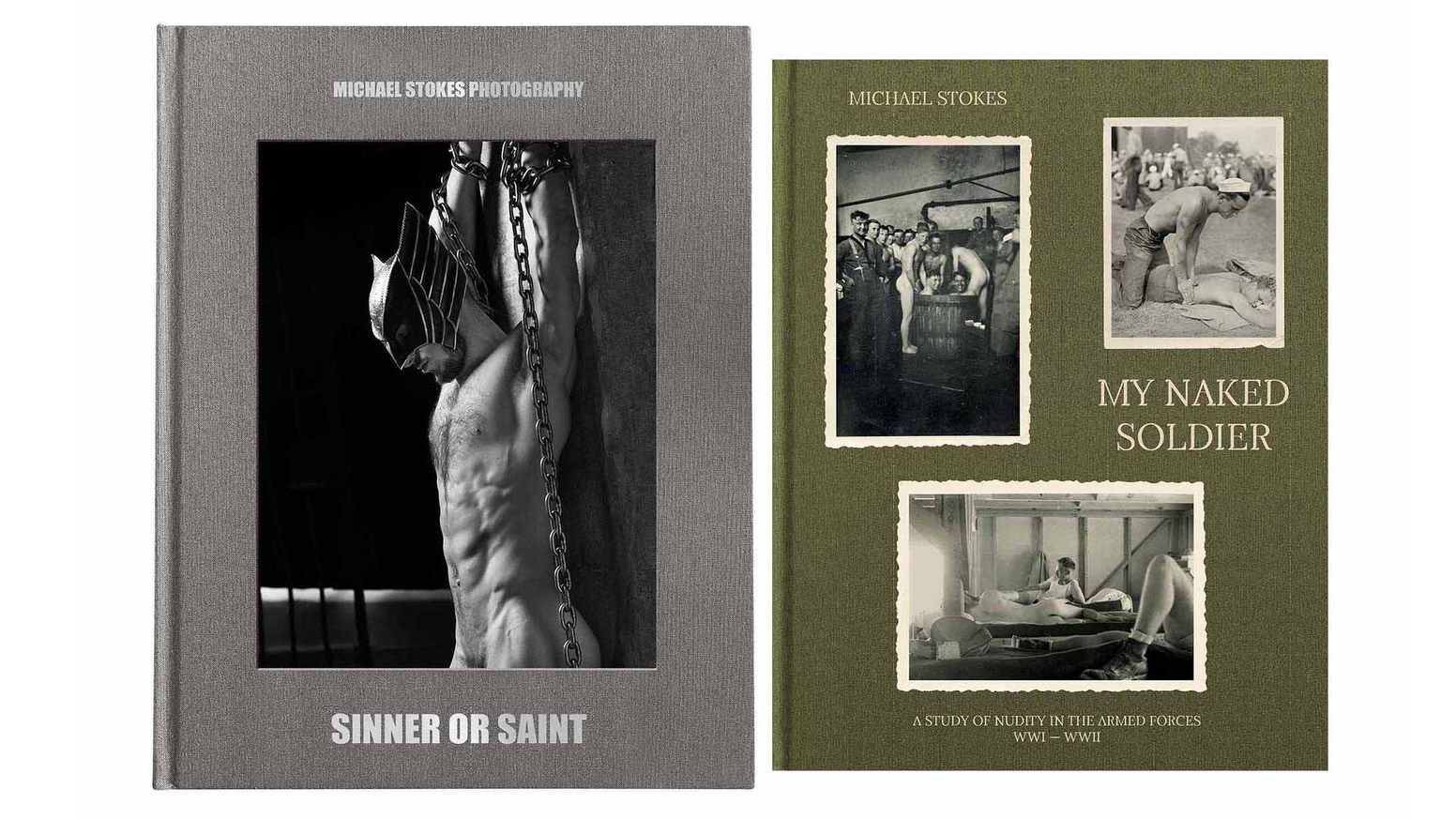 Publish two coffee table books 1) My new work - male, nude figure study. 2) A study of male nudity in the armed forces, WWI & WWII.