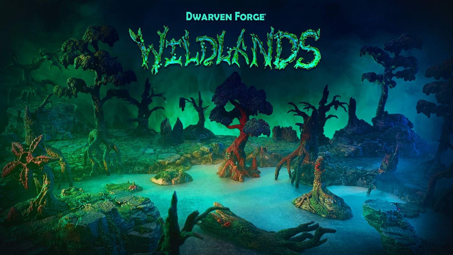 Amazing Wilderness terrain, sculpted by hand, cast in Dwarvenite®, available fully hand painted. Your games won't be the same again.