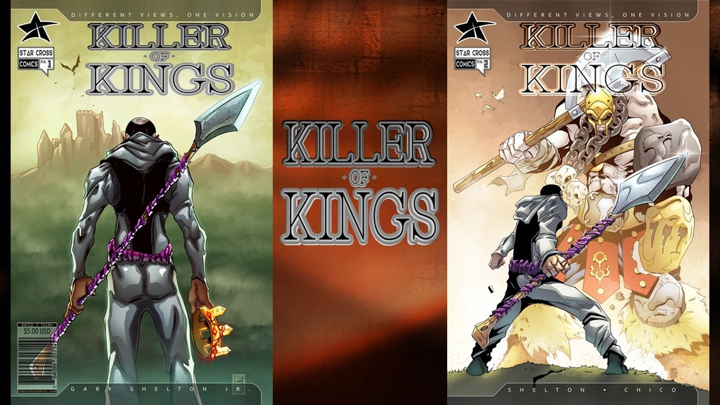 Killer of Kings ( Issues 1 and 2 ) project video thumbnail