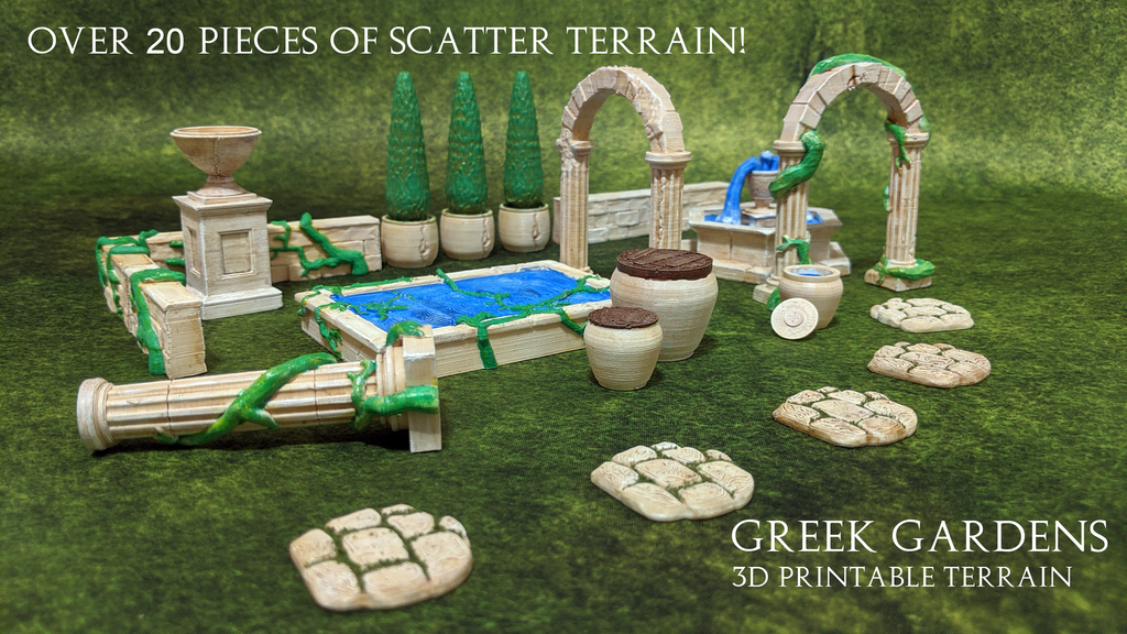 Project image for Greek Gardens