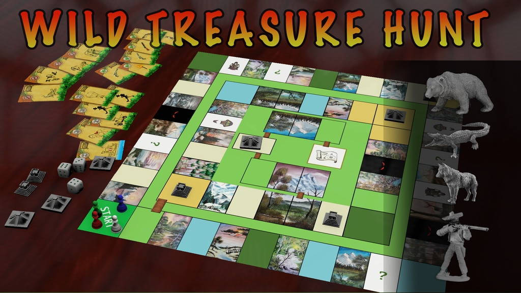 Wild Treasure Hunt