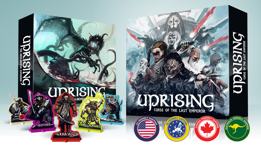 Uprising | Curse of the Last Emperor project video thumbnail