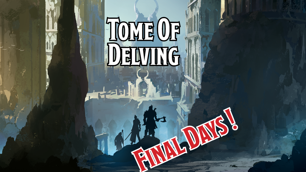 Tome of Delving - Pathfinder Edition project video thumbnail