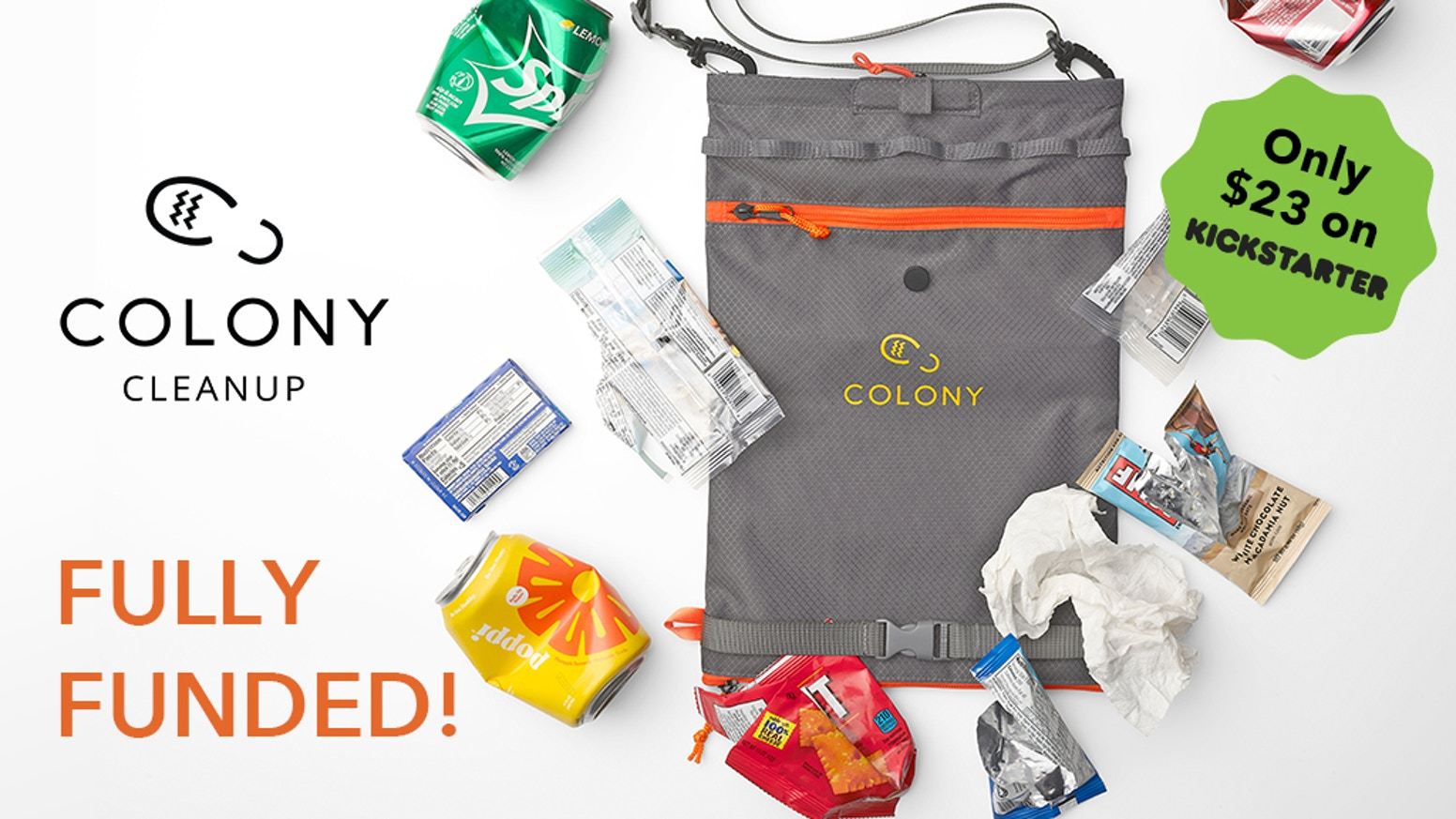 "An all-around outdoor bag specifically designed for outdoor enthusiasts to make it easy to ""carry-in & carry-out"" day hike rubbish"