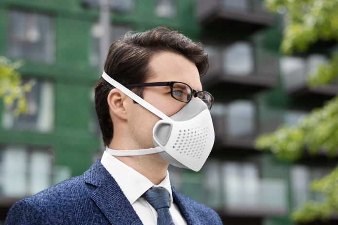 A reusable face mask solution certified to EN1827 FFP3 N99. Produced using local supply chains, utilizing a modular design.