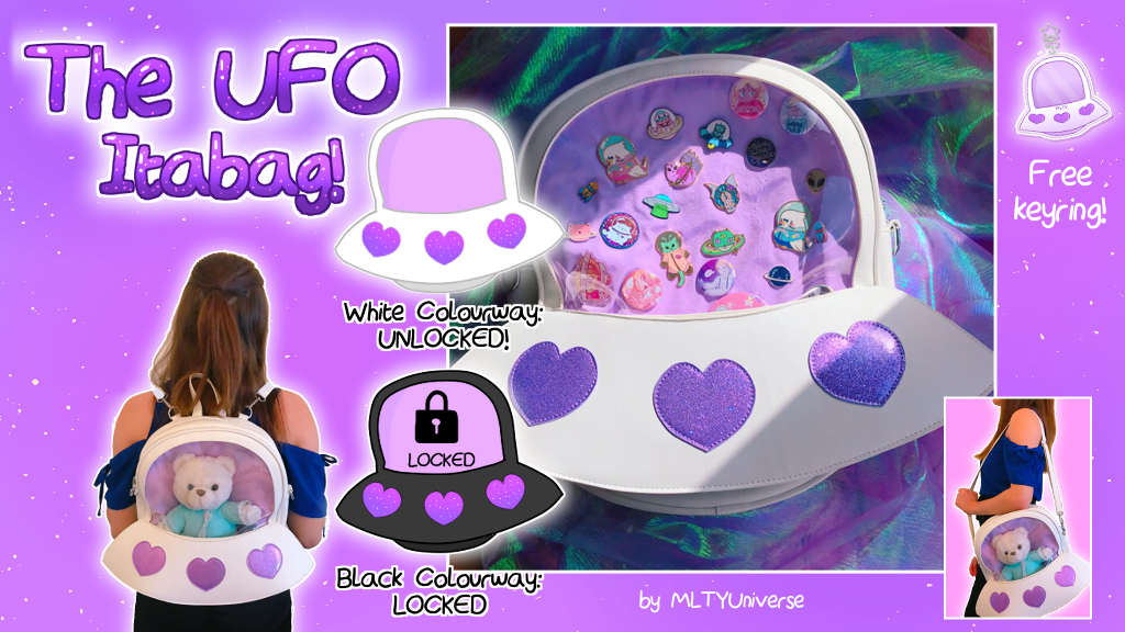 The UFO Ita Bag! project video thumbnail