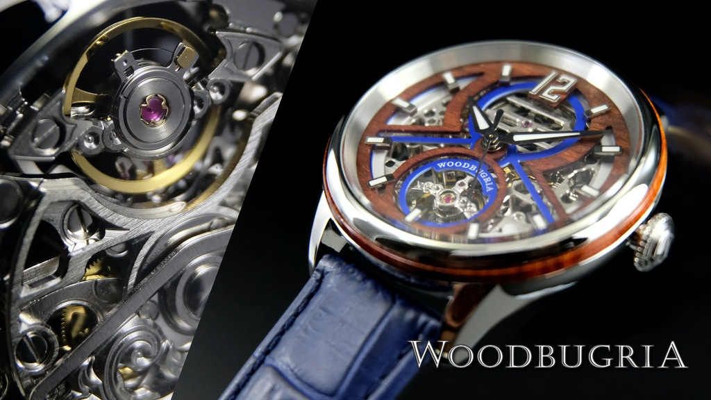 WoodBugria Automatic watch project video thumbnail