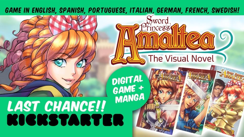 Sword Princess Amaltea - A Matriachal Fantasy Visual Novel project video thumbnail