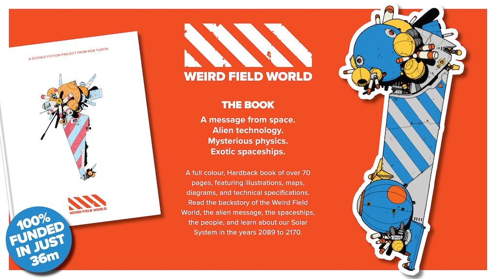 Project image for Weird-Field World. A science fiction project from Rob Turpin