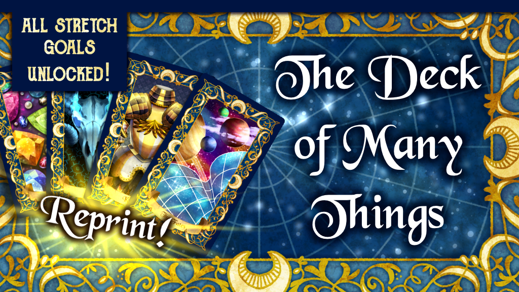 Project image for The Deck of Many Things: Reprint!