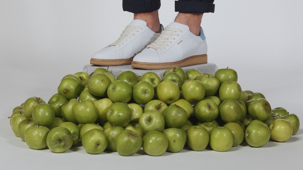 Animal-Friendly Footwear Made Using Apples. project video thumbnail