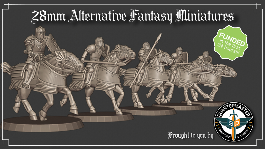 Project image for 28mm Alternative Fantasy Miniature STL Files