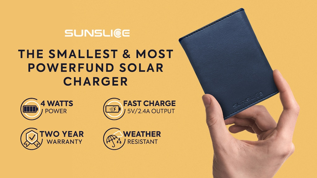 Sunslice | The smallest & most powerfund solar power bank