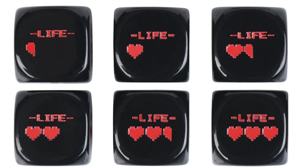 Project image for Legend of Zelda Inspired Pixel Heart Dice