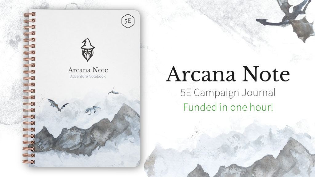 Project image for Arcana Notebook