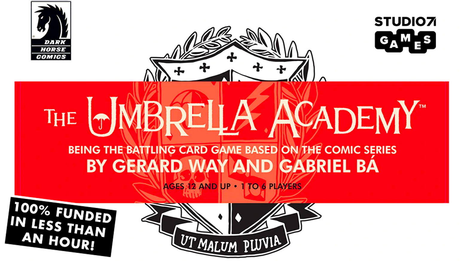 Umbrella Academy Card Game Based on the Acclaimed Comic Book Series by Gerard Way and Gabriel Bá