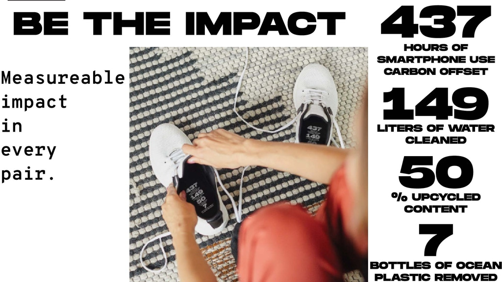 AVRIO: The shoe where you make a difference and prove it project video thumbnail