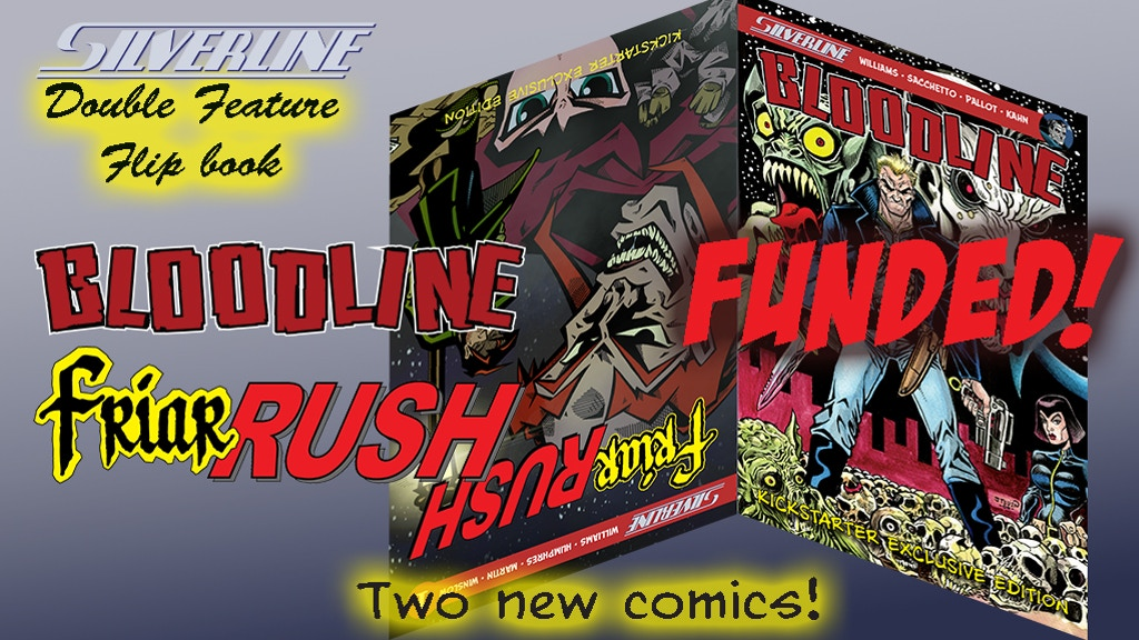 Silverline double feature: Friar Rush #1 & Bloodline 1-shot project video thumbnail
