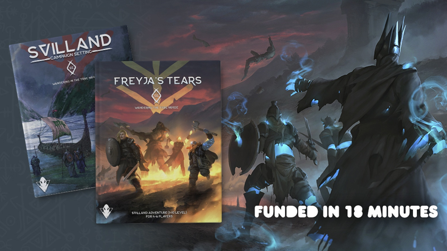 Svilland: The True Norse Setting for DnD 5E is coming with its anticipated reprint and a grim adventure, Freyja's Tears