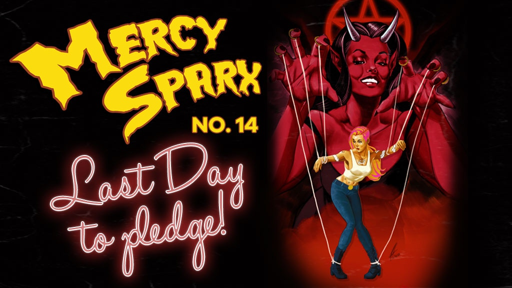 Mercy Sparx #14 - with Augmented Reality Cover & Statue project video thumbnail