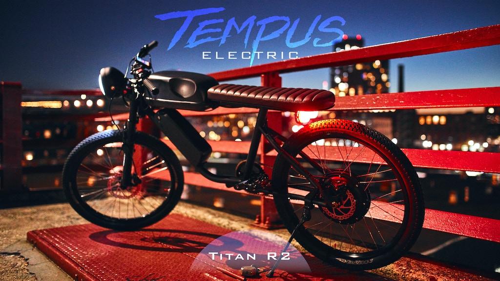 Ride Into The Future: The Titan R2 Electric Bike