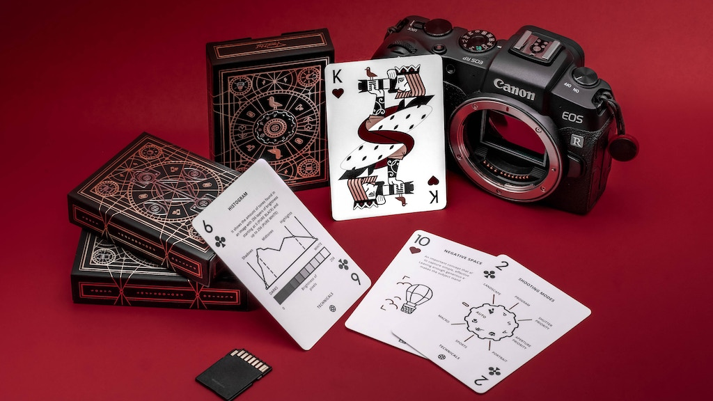 The Photography Deck: Camera Cheat Sheet Playing Cards project video thumbnail