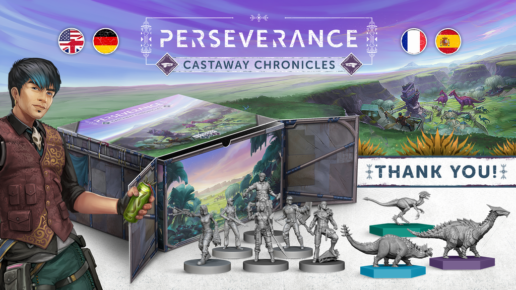 Perseverance: Castaway Chronicles project video thumbnail