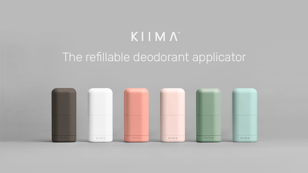 Kiima™ : The refillable deodorant applicator project video thumbnail