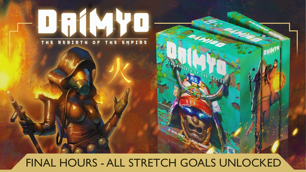 Daimyo - Rebirth of the Empire project video thumbnail