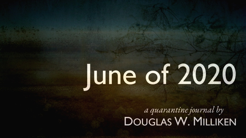 June of 2020: a quarantine journal project video thumbnail