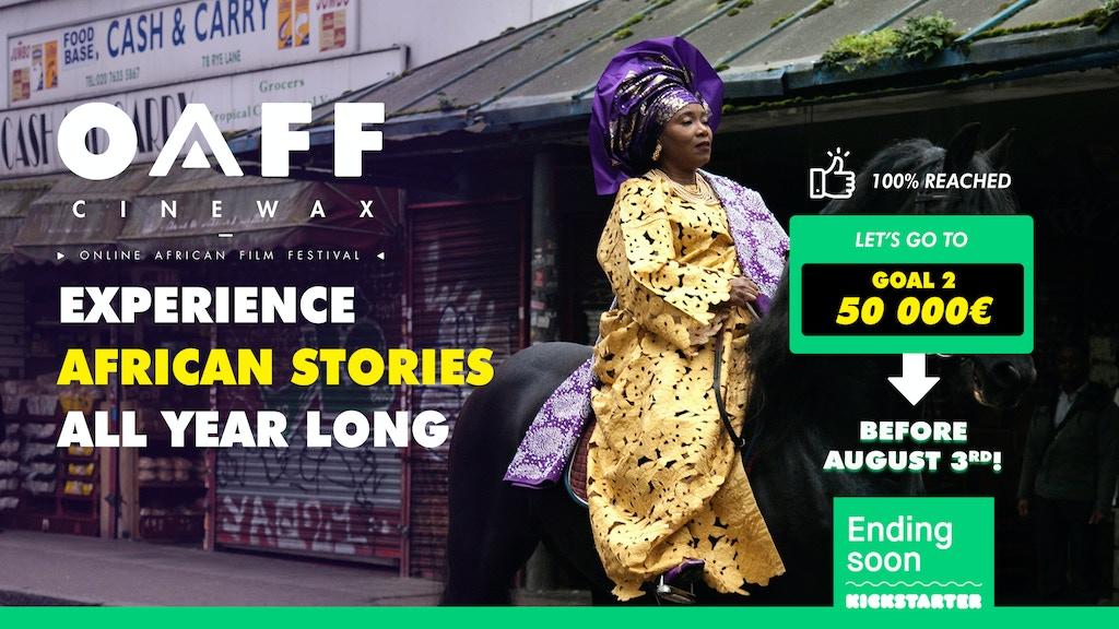 Online African Film Festival (OAFF) new platform project video thumbnail