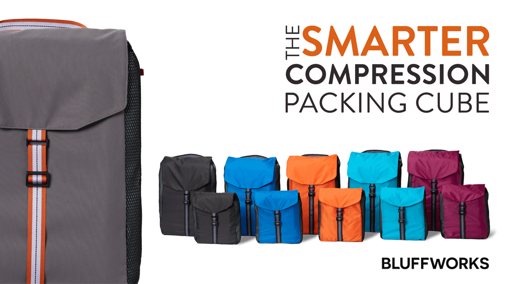 The Smarter Compression Packing Cube by Bluffworks project video thumbnail