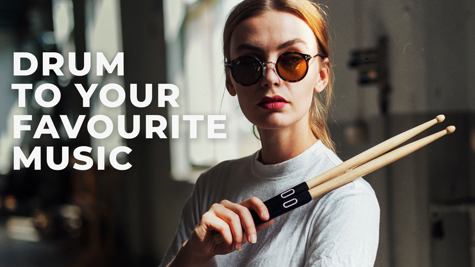 An instrument and app that will teach you to drum along to your favourite music.
