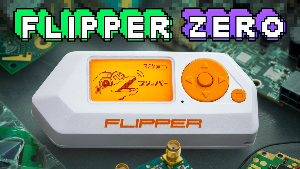 Flipper Zero — Tamagochi for Hackers project video thumbnail