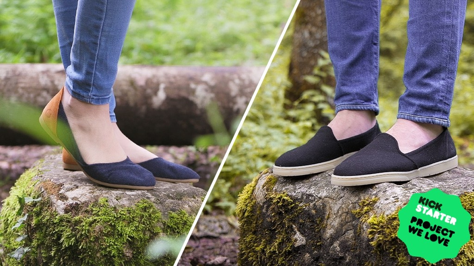 """A collection of wool loafers and flats crafted with natural materials and timeless designs. """"A Simple Swiss Shoe"""" by Baabuk."""