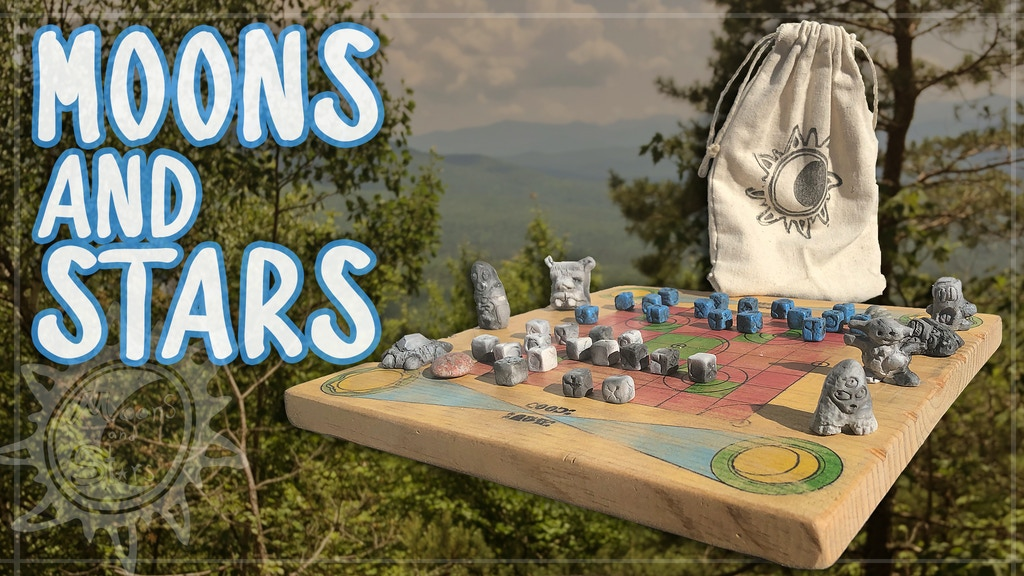 Moons & Stars - Handmade Strategy Boardgame project video thumbnail