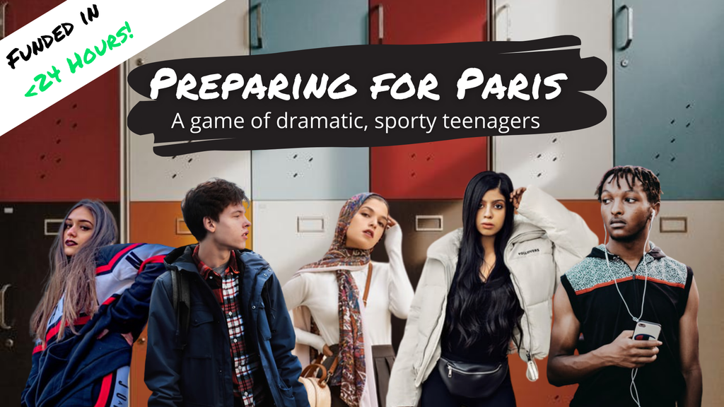 Play a personified sport in American high school. Can you win your way to Olympic glory?