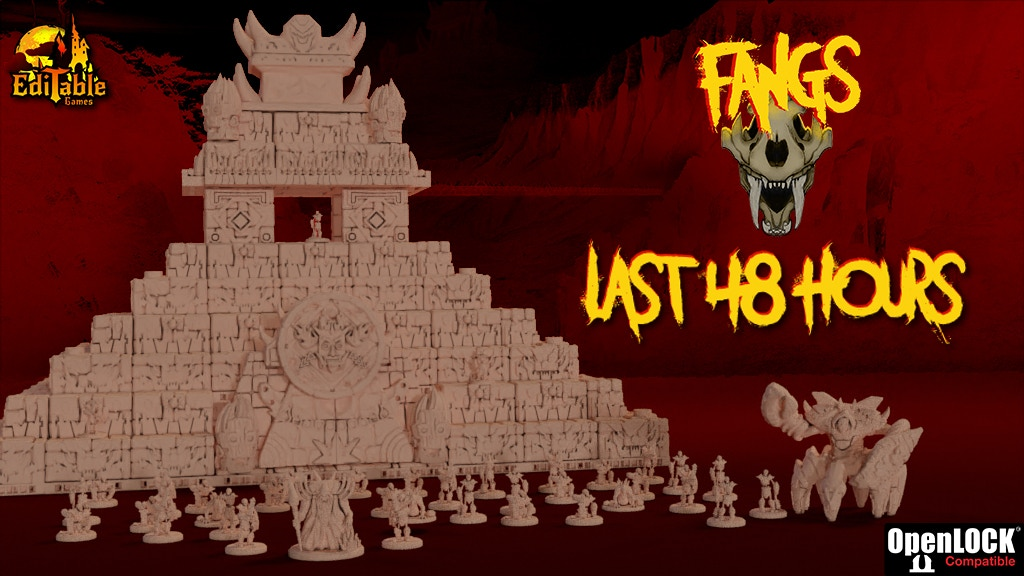 FANGS - STL files for 3D Modular Scenarios by EdiTable Games project video thumbnail