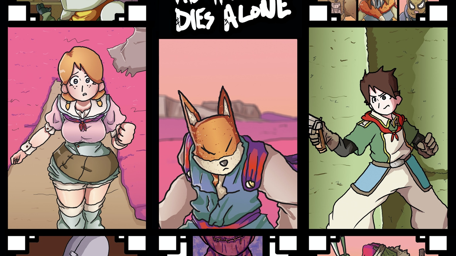 Collects the first story arc in the ongoing comic series The hero dies alone
