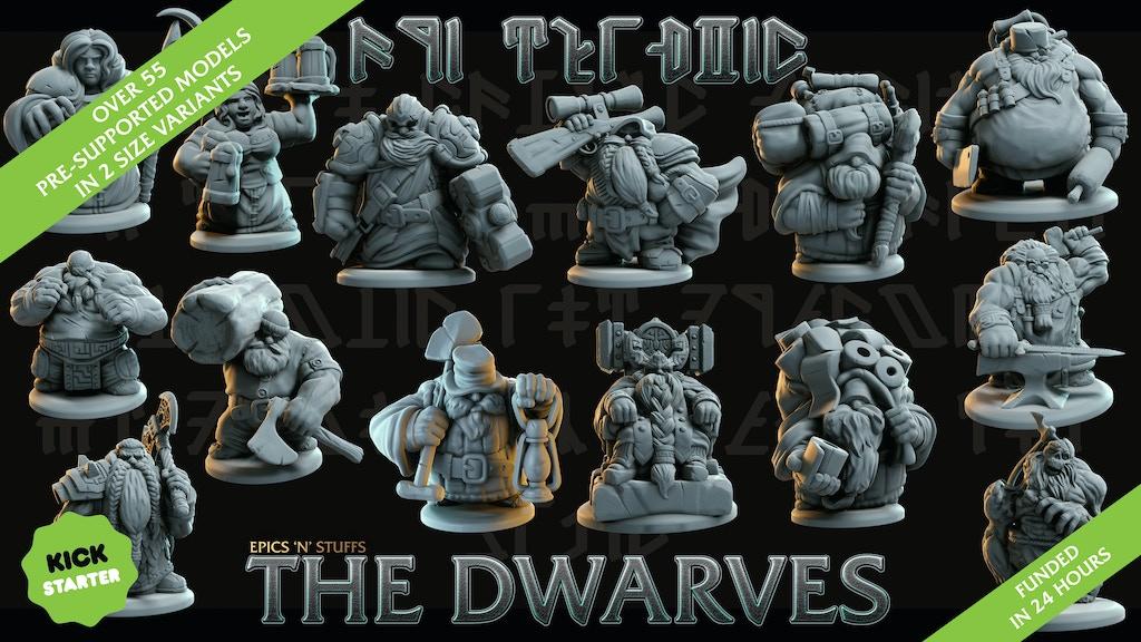 Project image for Epics N Stuffs - The Dwarves V2
