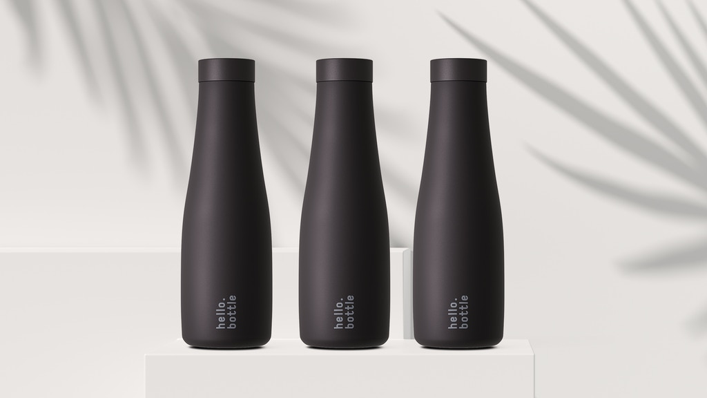 Project image for Say hello.bottle - The new Vacuum Insulated Steel Bottle