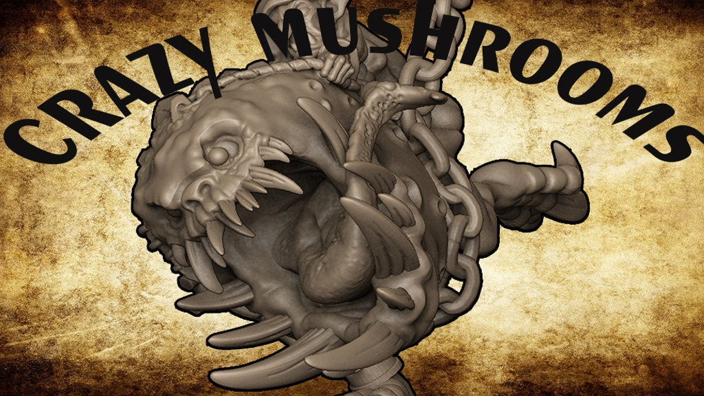 CRAZY MUSHROOMS project video thumbnail