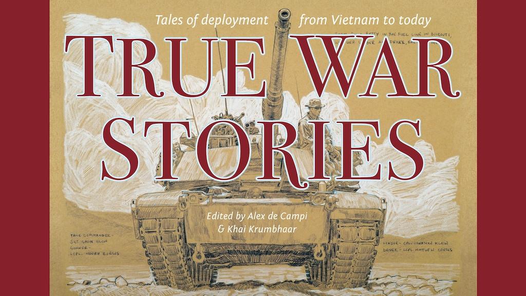 True War Stories: A Comics Anthology project video thumbnail