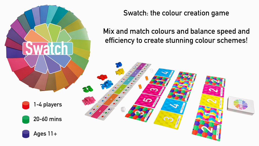 Project image for Swatch: the colour creation board game (Canceled)