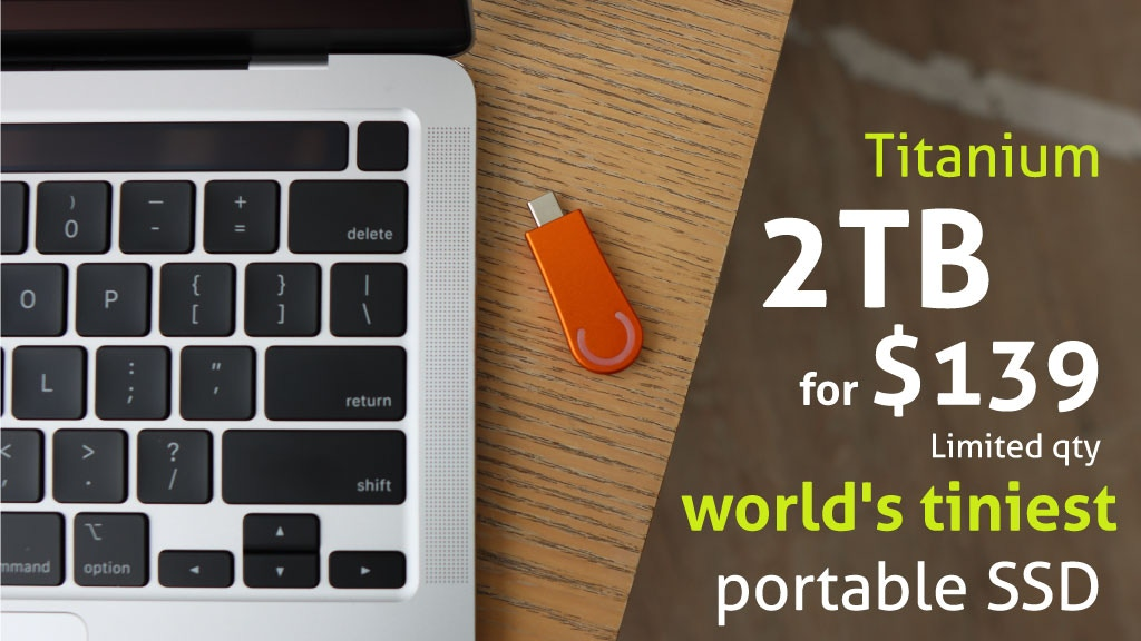 TinyWand: High Speed Portable SSD made with Titanium project video thumbnail